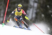 21st December 2020; Alta Badia Ski Resort, Dolomites, Italy; International Ski Federation World Cup Slalom Skiing; Armand Marchant (BEL)