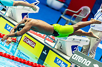FSM - Federated States of Micronesia LIMTIACO Tasi<br /> Gwangju South Korea 27/07/2019<br /> Swimming Mixed 4x100m Freestyle<br /> 18th FINA World Aquatics Championships<br /> Nambu University Aquatics Center <br /> Photo © Giorgio Scala / Deepbluemedia / Insidefoto