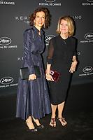 Audrey Azoulay et Nicole Garcia en photocall avant la soiréee Kering Women In Motion Awards lors du soixante-dixième (70ème) Festival du Film à Cannes, Place de la Castre, Cannes, Sud de la France, dimanche 21 mai 2017. Philippe FARJON / VISUAL Press Agency