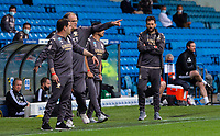 Leeds United manager Marcelo Bielsa shouts instructions to his team from the technical area <br /> <br /> Photographer Alex Dodd/CameraSport<br /> <br /> The EFL Sky Bet Championship - Leeds United v Fulham - Wednesday 24th June 2020 - Elland Road - Leeds<br /> <br /> World Copyright © 2020 CameraSport. All rights reserved. 43 Linden Ave. Countesthorpe. Leicester. England. LE8 5PG - Tel: +44 (0) 116 277 4147 - admin@camerasport.com - www.camerasport.com<br /> <br /> Photographer Alex Dodd/CameraSport<br /> <br /> The Premier League - Newcastle United v Aston Villa - Wednesday 24th June 2020 - St James' Park - Newcastle <br /> <br /> World Copyright © 2020 CameraSport. All rights reserved. 43 Linden Ave. Countesthorpe. Leicester. England. LE8 5PG - Tel: +44 (0) 116 277 4147 - admin@camerasport.com - www.camerasport.com