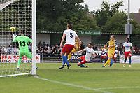 Charlie Stimson of Hornchurch goese close during Hornchurch vs Dagenham & Redbridge, Friendly Match Football at Hornchurch Stadium on 24th July 2021