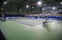 18-11-07, Netherlands, Amsterdam, Wheelchairtennis Masters 2007, Final Ammerlaan - jeremiasz(background)