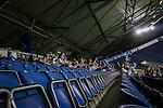 14.09.2020, Schauinsland-Reisen-Arena, Duisburg, GER, DFB Pokal 1. Runde, MSV Duisburg vs Borussia Dortmund, , im Bild 300 Fans des MSV Duisburg sind an diesem Spieltag zugelassen, <br /> <br /> <br /> Foto © nordphoto / Rauch<br /> <br /> Gemäß den Vorgaben der DFL Deutsche Fußball Liga bzw. des DFB Deutscher Fußball-Bund ist es untersagt, in dem Stadion und/oder vom Spiel angefertigte Fotoaufnahmen in Form von Sequenzbildern und/oder videoähnlichen Fotostrecken zu verwerten bzw. verwerten zu lassen.