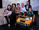 From left, Marisa Sandoval, her mom, Nevada First Lady Kathleen Sandoval, Kristi and Scott Young and their 3-year-old son Isaac and UnitedHealthcare President Garyn Ramos at the Make-A-Wish Waffles & Wishes event at the Atlantis Casino Resort Spa in Reno, Nev., on Tuesday, March 26, 2013. Isaac, who is fighting liver cancer, received a battery-powered car and his wish of a trip to the San Francisco Bay area through the sponsorship of UnitedHealthcare. .Photo by Cathleen Allison/Nevada Photo Source