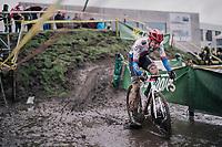 Michael Boros (CZE/Creafin-TUV)<br /> <br /> Superprestige cyclocross Hoogstraten 2019 (BEL)<br /> Elite Men's Race<br /> <br /> ©kramon