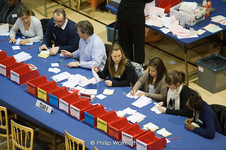Separating ballots for the Westminster City Council local government election and the Westminster South constituency in the 2010 General Election.