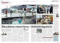 Dagens Nyheter, Swedish daily,    <br /> 2009, January 2, Photographer: Martin Fejer