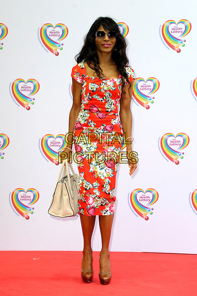 LONDON, ENGLAND - JUNE 02: Sinitta attends the Health Lottery Tea Party at The Savoy Hotel on June 2, 2014 in London, England.<br /> CAP/CJ<br /> ©Chris Joseph/Capital Pictures