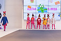 Model poses <br /> Agatha Ruiz de la Prada's fashion show during the FIMI, International Kids Fashion Fair, at Palacio de Cristal of the Casa de Campo in Madrid on January 19, 2018.