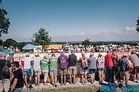 fans waiting up the Mûr de Bretagne<br /> <br /> Stage 6: Brest > Mûr de Bretagne / Guerlédan (181km)<br /> <br /> 105th Tour de France 2018<br /> ©kramon