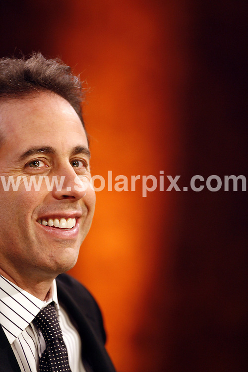 **ALL ROUND PICTURES FROM SOLARPIX.COM**.**SYNDICATION RIGHTS FOR UK AND SPAIN ONLY**.guests on the TV show 'Wetten, dass ..?' (I bet) in Graz, Austria. 8th December 2007..This pic: Jerry Seinfeld..JOB REF: 5475 CPR        DATE: 08_12_2007.**MUST CREDIT SOLARPIX.COM OR DOUBLE FEE WILL BE CHARGED* *UNDER NO CIRCUMSTANCES IS THIS IMAGE TO BE REPRODUCED FOR ANY ONLINE EDITION WITHOUT PRIOR PERMISSION*