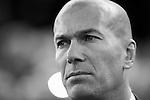 Coach Zinedine Zidane of Real Madrid looks on prior to the La Liga match between Valencia CF and Real Madrid at the Estadio de Mestalla on 22 February 2017 in Valencia, Spain. Photo by Maria Jose Segovia Carmona / Power Sport Images