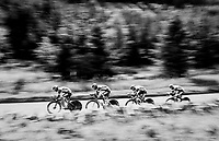 team Wanty-Groupe Gobert<br /> <br /> Time Trial through the magnificent Lake District National Park in Cumbria<br /> <br /> Stage 5 (TTT): Cockermouth to Whinlatter Pass (14km)<br /> 15th Ovo Energy Tour of Britain 2018