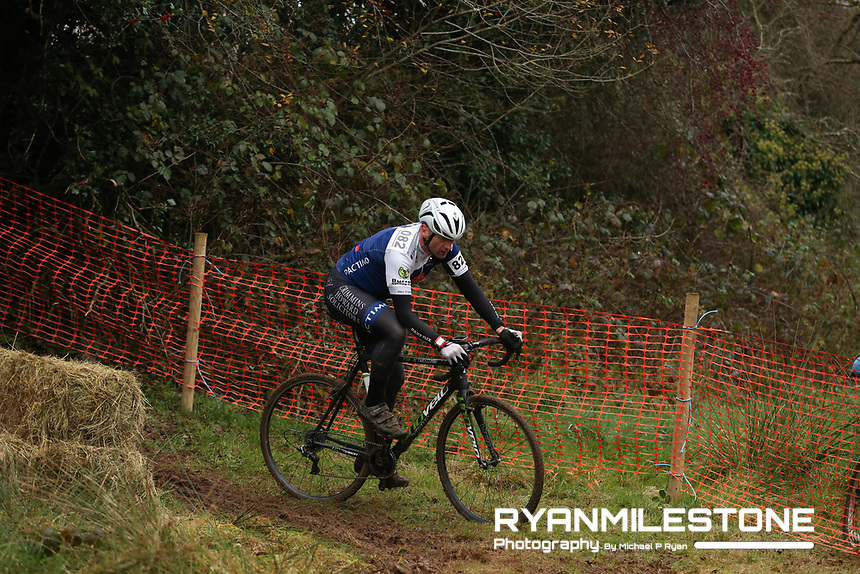 EVENT:<br /> Round 5 of the 2019 Munster CX League<br /> Drombane Cross<br /> Sunday 1st December 2019,<br /> Drombane, Co Tipperary<br /> <br /> CAPTION:<br /> Brian Joseph Nevin of Burren Cycling Club in action during the B Race<br /> <br /> Photo By: Michael P Ryan