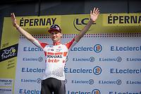 Tim Wellens (BEL/Lotto-Soudal) is the new Polka Dot Jersey / KOM leader<br /> <br /> Stage 3: Binche (BEL) to Épernay (FRA)(214km)<br /> 106th Tour de France 2019 (2.UWT)<br /> <br /> ©kramon