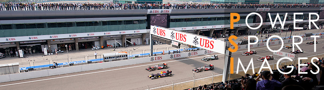 Day 3 of the UBS Chinese Grand Prix on 17th April 2011. Photo © Victor Fraile / The Power of Sport Images for UBS