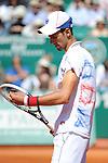 Djokovic loses in final at Monte Carlo on April 22, 2012