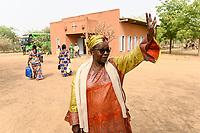 NIGER, Niamey, katholische Kirche, Fatouma Marie-Therése Djibo