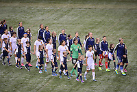 New Orleans, Louisiana - Wednesday, December 16, 2015: The USWNT take on China during their Victory Tour at Mercedes-Benz Superdome.