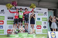Final GC Binckbanktour 2017 podium:<br /> <br /> 1. Tom Dumoulin (NED/Sunweb)<br /> 2. Tim Wellens (BEL/Lotto Soudal)<br /> 3. Jasper Stuyven (BEL/Trek Segafredo)<br /> <br /> <br /> Binckbank Tour 2017 (UCI World Tour)<br /> Stage 7: Essen (BE) > Geraardsbergen (BE) 191km