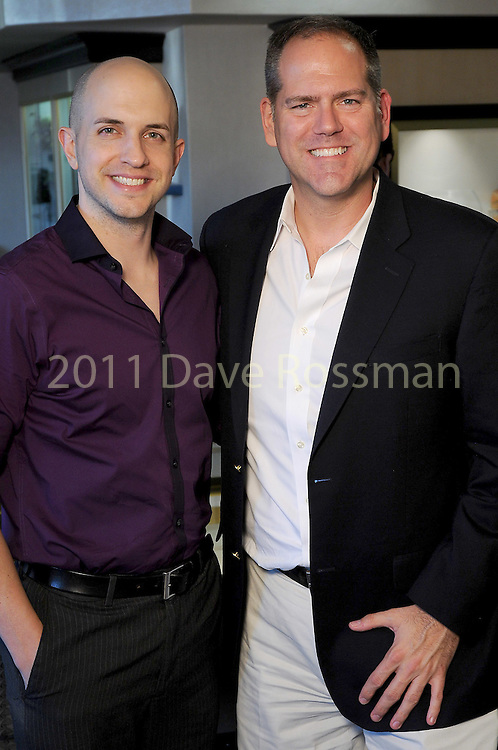 Chris Nodd and Jeff Gremillion at the Lauren Craft trunk show at I.W. Marks Jewelry Tuesday May 3,2016(Dave Rossman Photo)