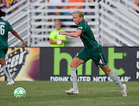 Saint Louis Athletica defender Sara Larsson (4) during a WPS match at Anheuser-Busch Soccer Park, in St. Louis, MO, July 26, 2009.  The match ended in a 1-1 tie.
