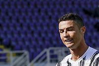 Cristiano Ronaldo of Juventus  during the  italian serie a soccer match,Fiorentina - Juventus at  theStadio Franchi in  Florence Italy ,