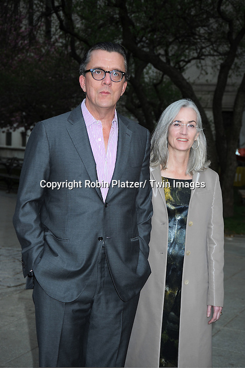 Kurt Anderson  and wife Anne Kreamer attending at The Vanity Fair Tribeca Film Festival Party on .April 27, 2011 at The State Supreme Courthouse in New York City.