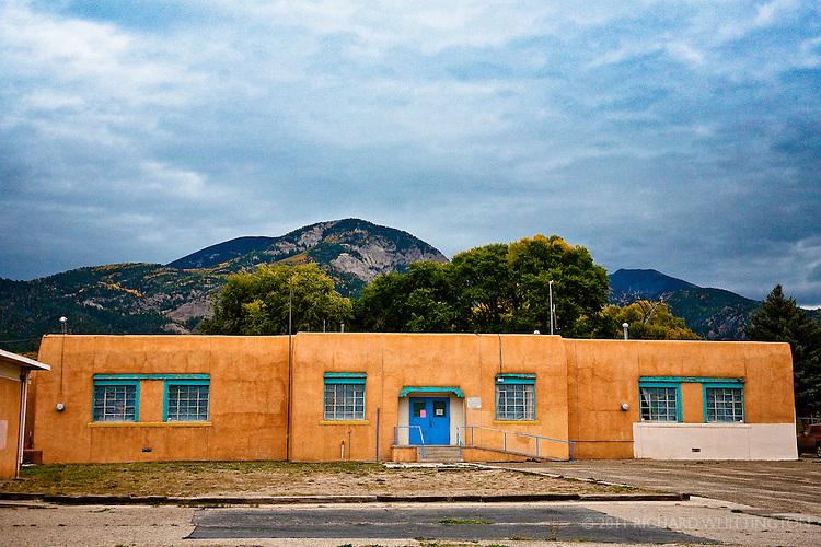 Arroyo Seco Middle School, Arroyo Seco, New Mexico.