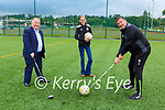 Paul Sherry, Jane and Tim Jones getting prepared for the Killarney Golf Classic which will be held in Beaufort Golf Course on September 4th
