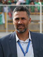 BOGOTA -COLOMBIA, 21-02-2017. Mario Yepes coach of Deportivo Cali.Action game between  Tigres FC  and Deportivo Cali during match for the date 5 of the Aguila League I 2017 played at Metropolitano de Techo stadium . Photo:VizzorImage / Felipe Caicedo  / Staff