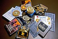 Marcas de preservativos. Foto de Manuel Lourenço.