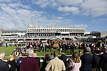 DUBLIN, IRELAND - SEPTEMBER 10: General view from around the racecourse on Champion Stakes Day at Leopardstown Race Course on September 10, 2016 in Dublin, Ireland. (Photo by Aindreas Lynch/Eclipse Sportswire/Getty Images)