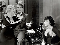 James Cagney  With Renee Whitney (L)<br /> and Merna Kennedy (R) in<br /> JIMMY THE GENT
