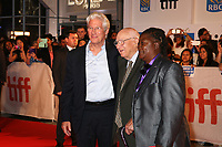 RICHARD GERE AND HIS FATHER - RED CARPET OF THE FILM 'THREE CHRISTS' - 42ND TORONTO INTERNATIONAL FILM FESTIVAL 2017
