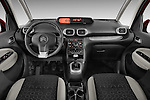 Straight dashboard view of a 2012 Citroen C3 PICASSO Millenium 5 Door Mini Mpv 2WD