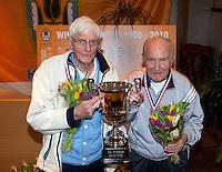 12-03-11, Tennis, Rotterdam, NOVK, Frans Goosen en Cees Maree(L)
