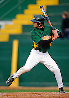 30 April 2008: University of Vermont Catamounts' outfielder Mark Micowski, a Freshman from Haddam, CT, in action against the University of Massachusetts Minutemen at Historic Centennial Field in Burlington, Vermont. The Catamounts recorded a season-high 19 hits as they defeated the Minutemen 17-4 in their last NCAA non-conference game of the year...Mandatory Photo Credit: Ed Wolfstein Photo