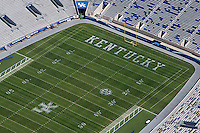 aerial photograph,Commonwealth Stadium, University of Kentucky,Lexington, Kentucky