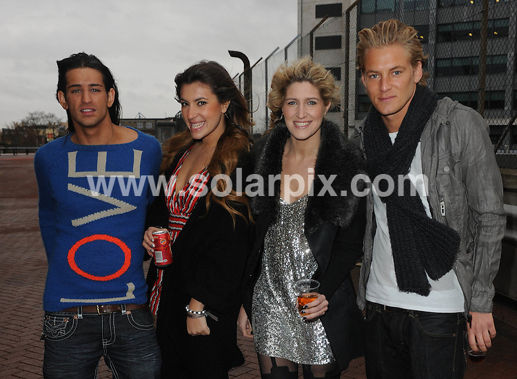 **EXCLUSIVE ALL ROUND PICTURES FROM SOLARPIX.COM**                                             **WORLDWIDE SYNDICATION RIGHTS**                                                                                  Caption: T4 Stars 2011 arrive at Earls Court in London                                                                              This pic:  Ollie Locke, Gabriella Ellis, Francesca Hull and Rich Elms                                                                                       .JOB REF: 14289       LNJ       DATE:11.12.2011                                                            **MUST CREDIT SOLARPIX.COM OR DOUBLE FEE WILL BE CHARGED**                                                                      **MUST AGREE FEE BEFORE ONLINE USAGE**                               **CALL US ON: +34 952 811 768 or LOW RATE FROM UK 0844 617 7637**