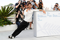 """CANNES, FRANCE - JULY 17: French actor Pierre Niney at photocall for the film """"OSS 117 : Alerte Rouge en Afrique Noire"""" (OSS 117 : From Africa With Love) at the 74th annual Cannes Film Festival in Cannes, France on July 17, 2021 <br /> CAP/GOL<br /> ©GOL/Capital Pictures"""