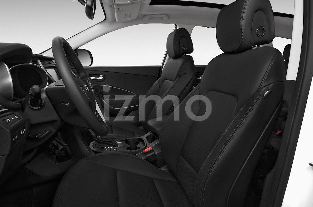 Front seat view of a 2014 Hyundai Santa Fe GLS 5 Door SUV Front Seat car photos