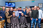 David Allman, 4th Lt,was the main organiser of Movember based in the Halfway Bar, Ballymac and the shave off took place last Saturday night in the bar and all proceeds went to Recovery Haven and MSI kerry branch.