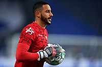 03th January 2021; Dragao Stadium, Porto, Portugal; Portuguese Championship 2020/2021, FC Porto versus Moreirense; Kewin of Moreirense  warms up before the match