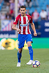 Lucas Hernandez of Atletico de Madrid in action during the La Liga match between Atletico de Madrid vs Osasuna at Estadio Vicente Calderon on 15 April 2017 in Madrid, Spain. Photo by Diego Gonzalez Souto / Power Sport Images