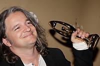 Montreal (Qc) CANADA - October 28 2007-<br /> <br /> Daniel Belanger, Winner, Pop Rock album of the year (Album de lOannée - Pop-Rock)<br /> for L'Echec du Materiel,<br /> 2007 ADISQ Gala held at Saint-Denis Theater in Montreal<br /> <br />  Photo (c) 2007 Pierre Roussel- Images Distribution