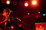October 6, 2010. Carrboro, NC.. Gayngs, a band made up of members of Bon Iver, Megafaun, The Rosebuds, Solid Gold and Doomtree, played at the Cat's Cradle while on their US tour.