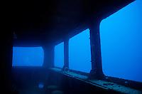 Underwater remains of the Toho Shipwreck, Noumea Lagoon, New Caledonia.
