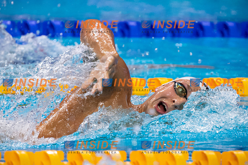 MALYUTIN Martin RUS gold  medal<br /> Swimming - Men's 400m freestyle final<br /> XXXV LEN European Aquatic Championships<br /> Duna Arena<br /> Budapest  - Hungary  17/5/2021<br /> Photo Giorgio Perottino / Deepbluemedia / Insidefoto