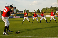 at Fieldcrest Cannon Stadium May 12, 2010, in Kannapolis, North Carolina.  Photo by Brian Westerholt / Four Seam Images